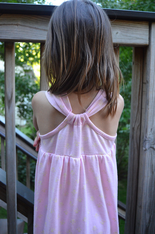 racer back dress pattern