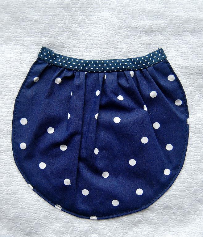ikat bag: Pockets VI - Gathered Patch Pockets