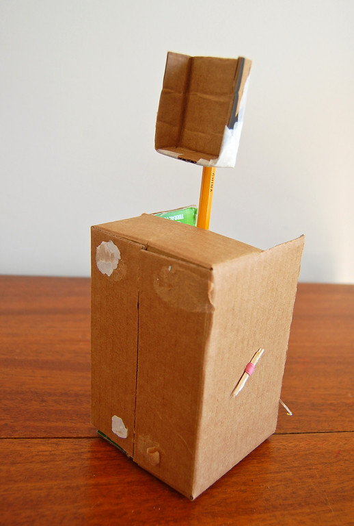 How To Make A Small Trebuchet Out Of Cardboard