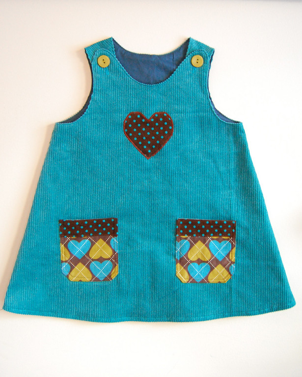 "DIY ""Pillowcase"" Baby Dress Pattern 